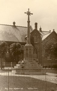 Photograph showing Wolverton War Memorial