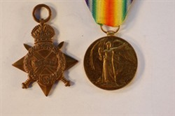 WW1 Medals and ribbons awarded to Harold Godwin