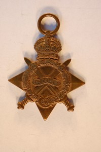 World War One 1914-1915 Star awarded to 4th Class Artificer Harold Godwin.