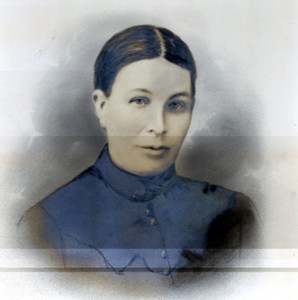 Sepia Photograph of Albert Mander's mother; Annie Mander