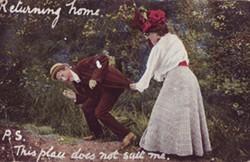 Humorous Photographic postcard
