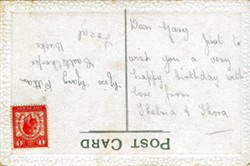 Illustrated postcard