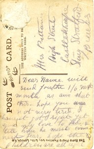 Photographic postcard
