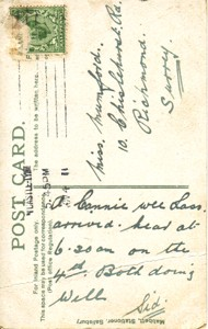 Illustrated  postcard
