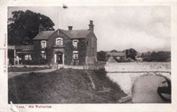 Postcard of the Loco Hotel, Wolverton