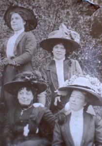 Slide of Nellie Smith with Friends