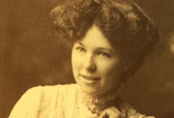 Close up slide of Nellie Smith