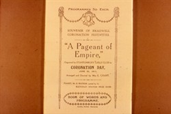Slide of Front Cover of Souvenir Programme for 'A Pageant of Empire'