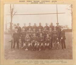 Olney RFC team 1906-07
