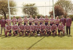 Olney RFC 1st XV Southern Counties North League Champions season 1998 -1999