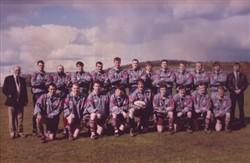 Olney RFC 1st XV, Bucks Cup Runners Up 1994-95