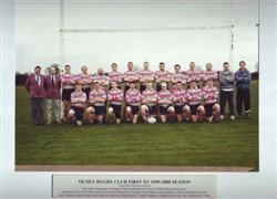 Olney RFC 1st XV 1999-2000 season