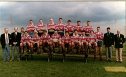 Olney RFC 1st XV team 1995 - 1996