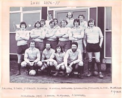 Olney RFC 1st XV Season 1976-77