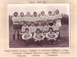 Olney RFC 1st XV 1972-73