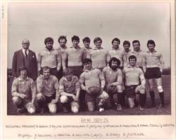 Olney RFC 1st XV 1971-72