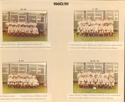 1980-81 team photos