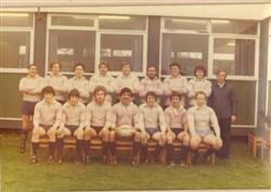 Ist XV team 1980-81