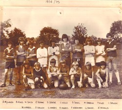 Olney RFC youth team, 1974/75.