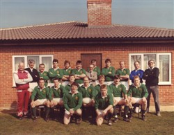 East Midlands team line-up 10 April 1988