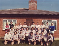 Olney RFC team liine-up 10 April 1988