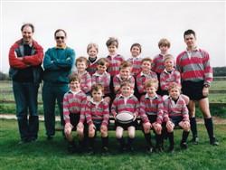 Olney RFC Under 7's team 1997