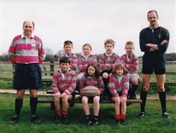 Olney RFC Under 10's team 1997