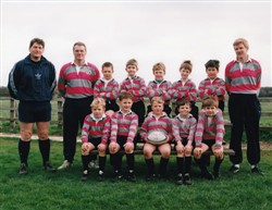 Olney RFC Mini and Juniors Section 1997, Under 8's.