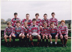 Olney RFC Mini and Junior Section 1972-1997: Under 12 Team Photo.