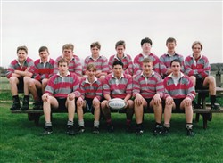 Olney RFC Mini and Juniors Section 1997, Under 15/16's.