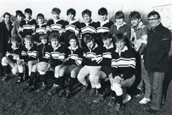 Milton Keynes Rugby Union Football Club Youth Team c.1980s