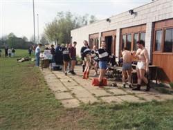Milton Keynes Rugby Union Football Club 7's Team c.1995