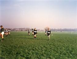 Milton Keynes Rugby Union Football Club match