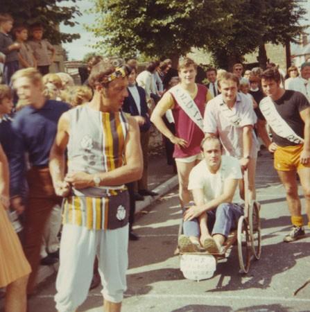 Potterspury Pram Race, High Street