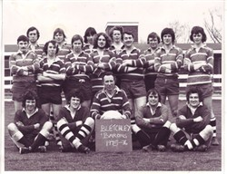 Bletchley Barons Team Photograph 1975-76