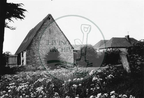 Photograph of Manor Farm Old Bradwell (1971).