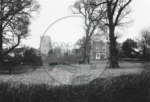 Photograph of Loughton village (1971).