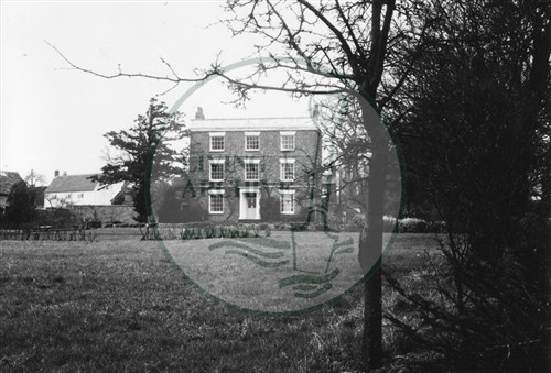 Photograph of Loughton village (1971).