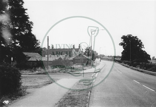 Photograph of Stonebridge Farm New Bradwell (1971).