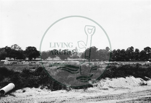 Photograph of land outside Stony Stratford (1971).