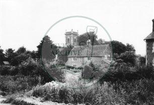 Photograph of St Mary Magdalen Church Willen designed by Sir Robert Hooke (1971).