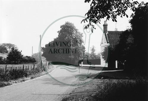 Photograph of Milton Keynes Village (1971).