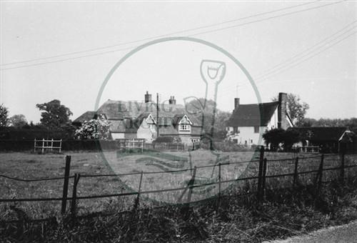 Photograph of Milton Keynes Village house (1971).