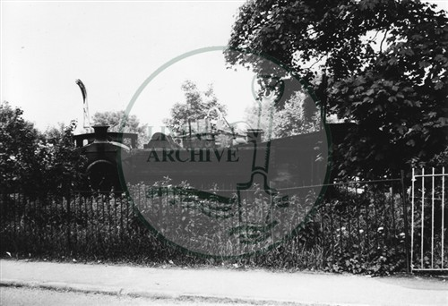Photograph of New Bradwell Scrap yard (1971).