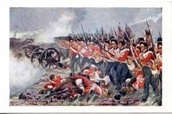 The charge of the Fusilier Brigade