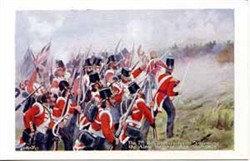 The 7th Royal Fusiliers storming Alma Heights