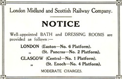 London Midland and Scottish Railway Company Notice.
