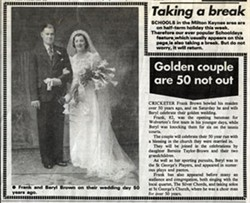 Golden couple are 50 not out