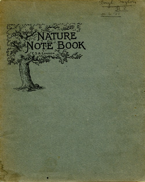 Exercise book for Nature