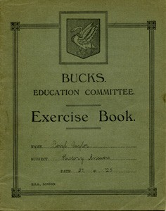 Exercise book for History